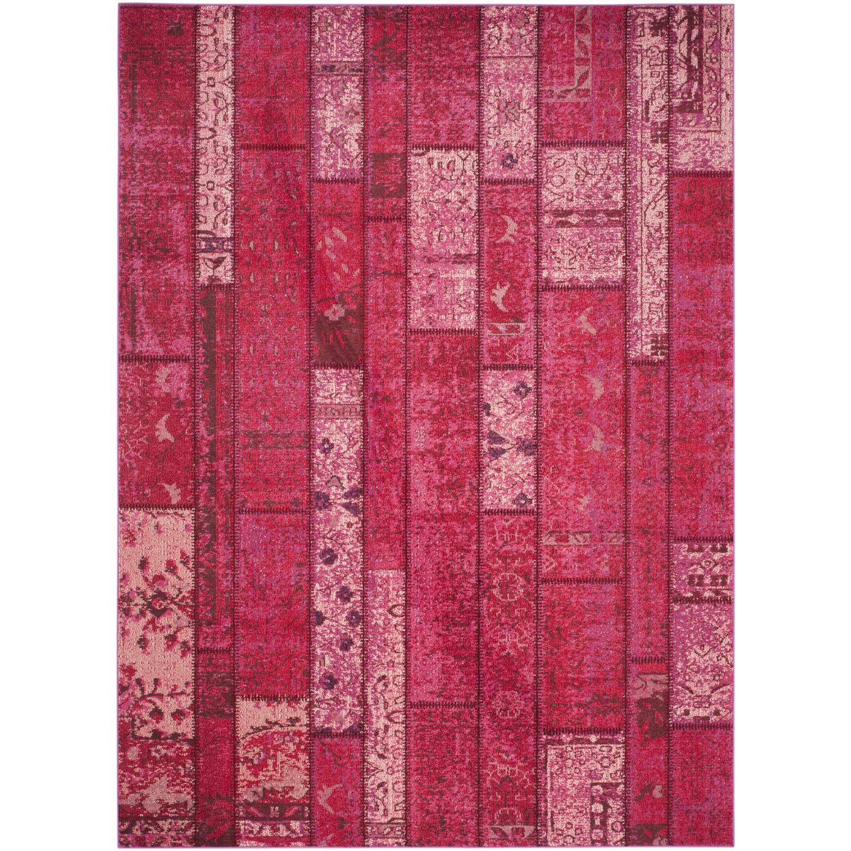 Teppich Effi - Kunstfaser - Himbeere - 200 x 279 cm, Safavieh