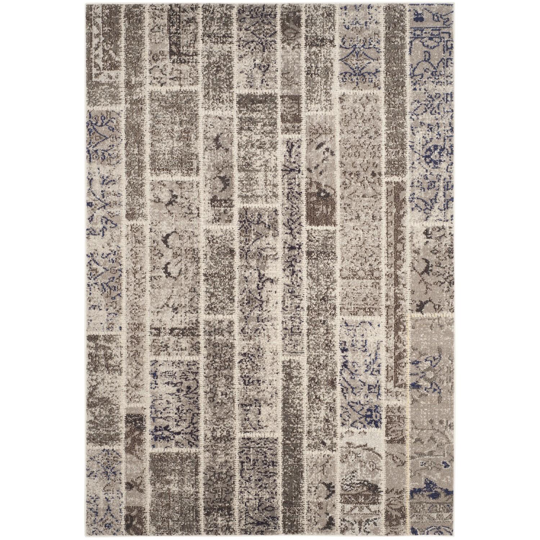 Teppich Effi - Kunstfaser - Sand / Braun - 200 x 279 cm, Safavieh