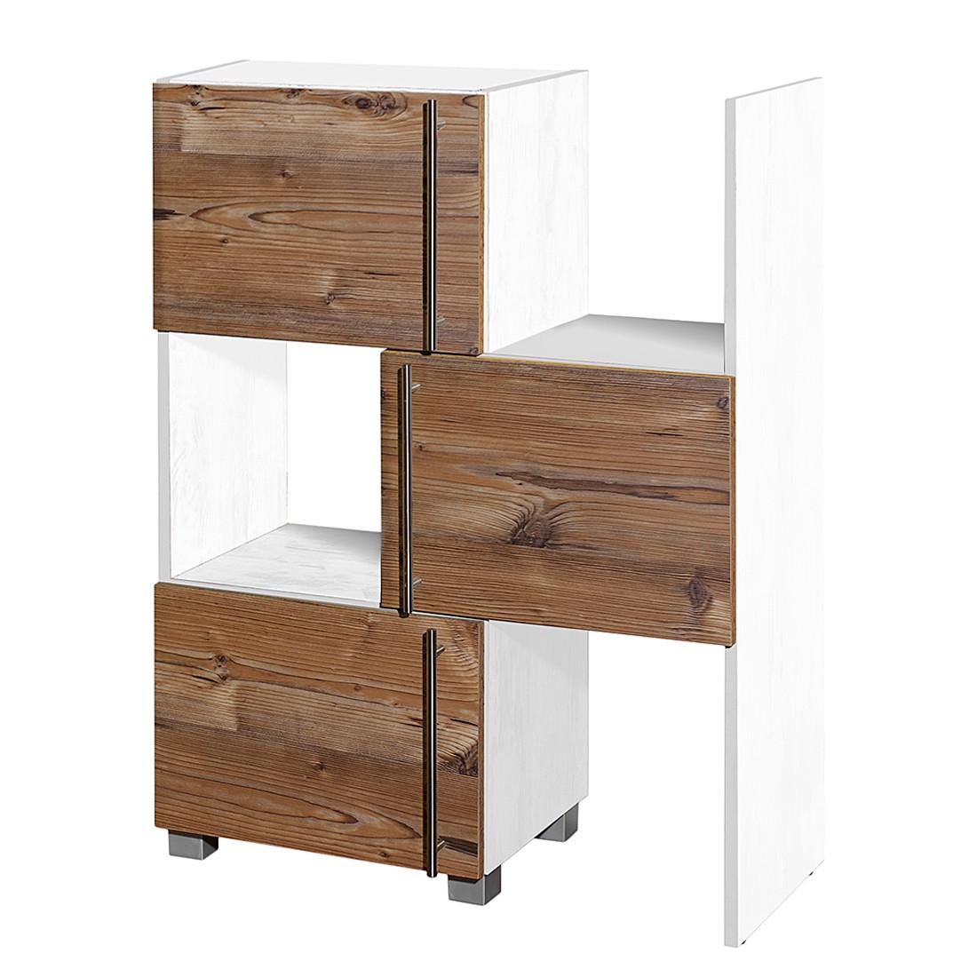 home24 Schieberegal Moncton | Büro > Büroregale > Standregale | Braun | Holzwerkstoff | Schildmeyer