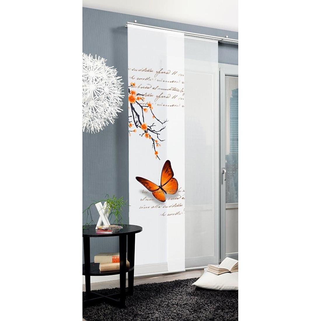 home24 Schiebevorhang Butterfly | Heimtextilien > Gardinen und Vorhänge > Schiebegardinen und Schiebevorhänge | Home Wohnideen