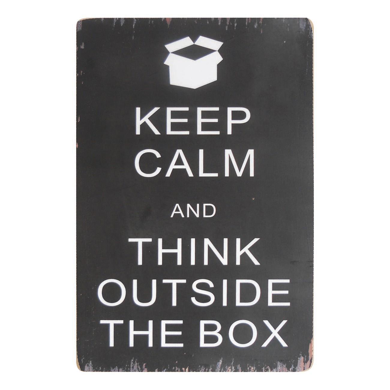 Schild Keep Calm