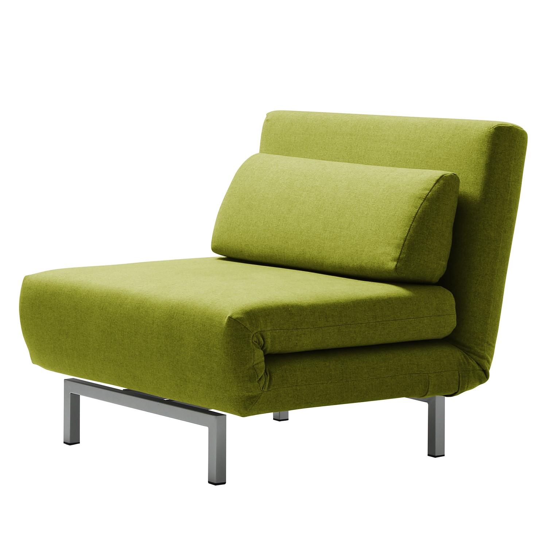 goedkoop Slaapfauteuil Copperfield geweven stof Stof Nova Pistache groen Studio Copenhagen