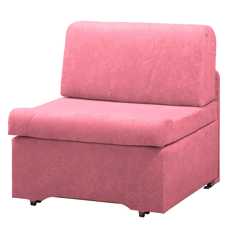 home24 Schlafsessel Disley Webstoff | Schlafzimmer > Schlafsofas | Pink | Textil | Modoform