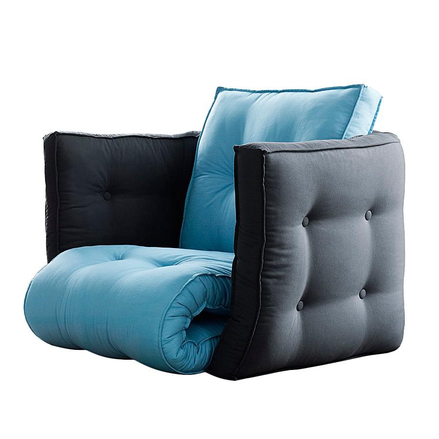 Fauteuil futon convertible Dice
