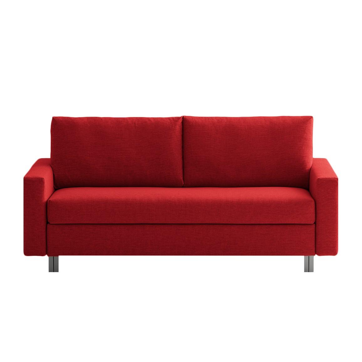 home24 Schlafsofa Aura Webstoff | Wohnzimmer > Sofas & Couches > Schlafsofas | Rot | Textil | chillout by Franz Fertig