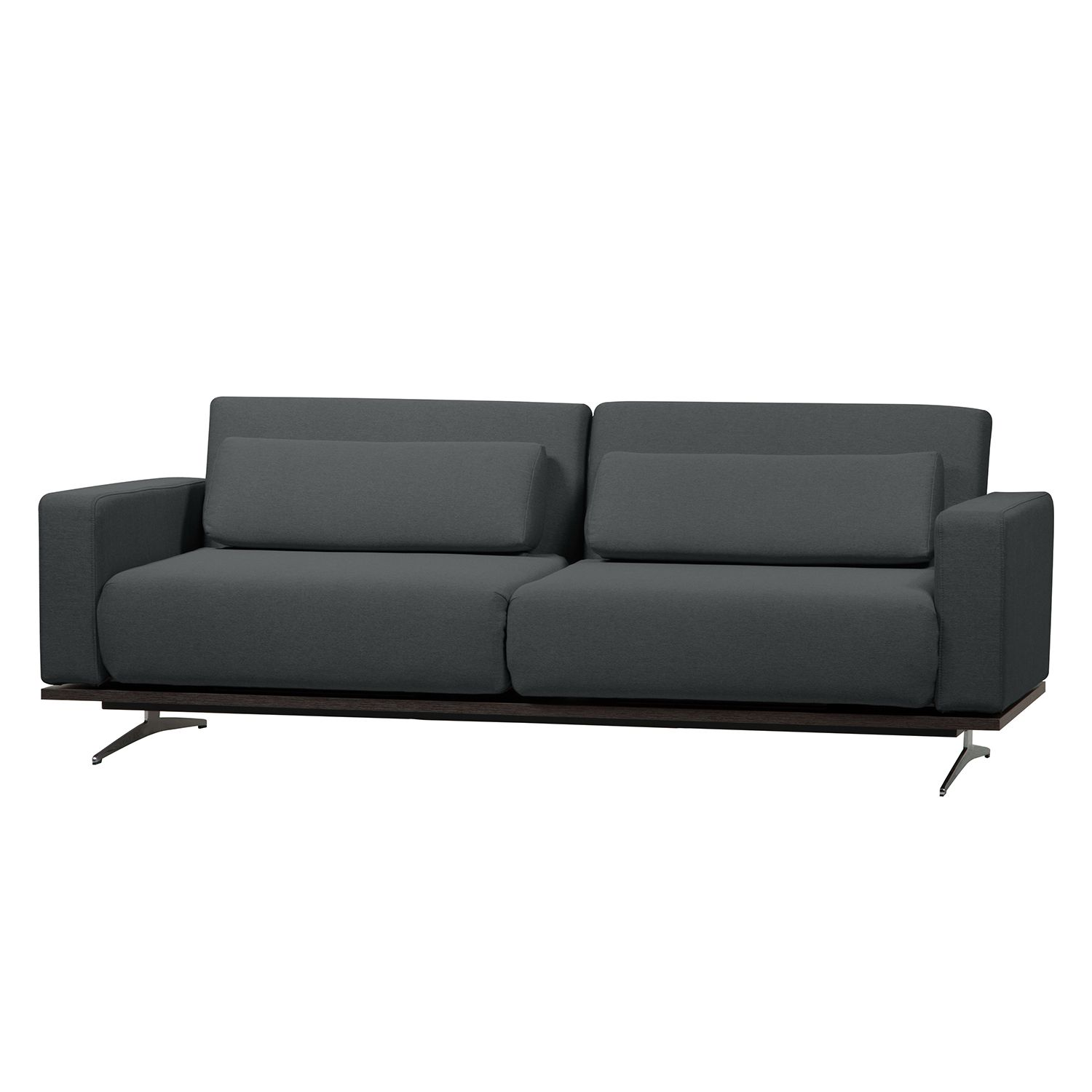 Schlafsofa Copperfield I Webstoff - Webstoff - Stoff Zahira: Anthrazit