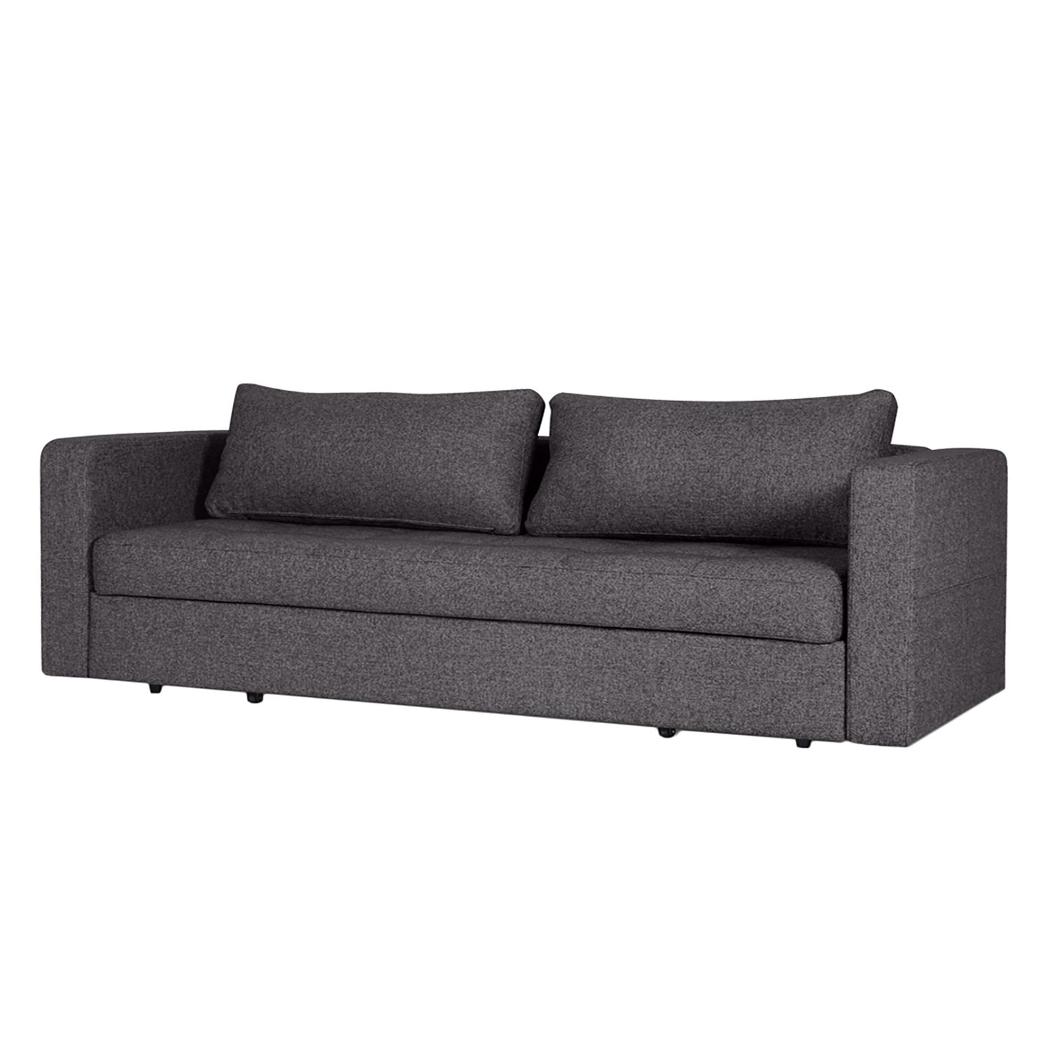 schlafsofa eperny webstoff stoff bora grau meliert aws velbert. Black Bedroom Furniture Sets. Home Design Ideas