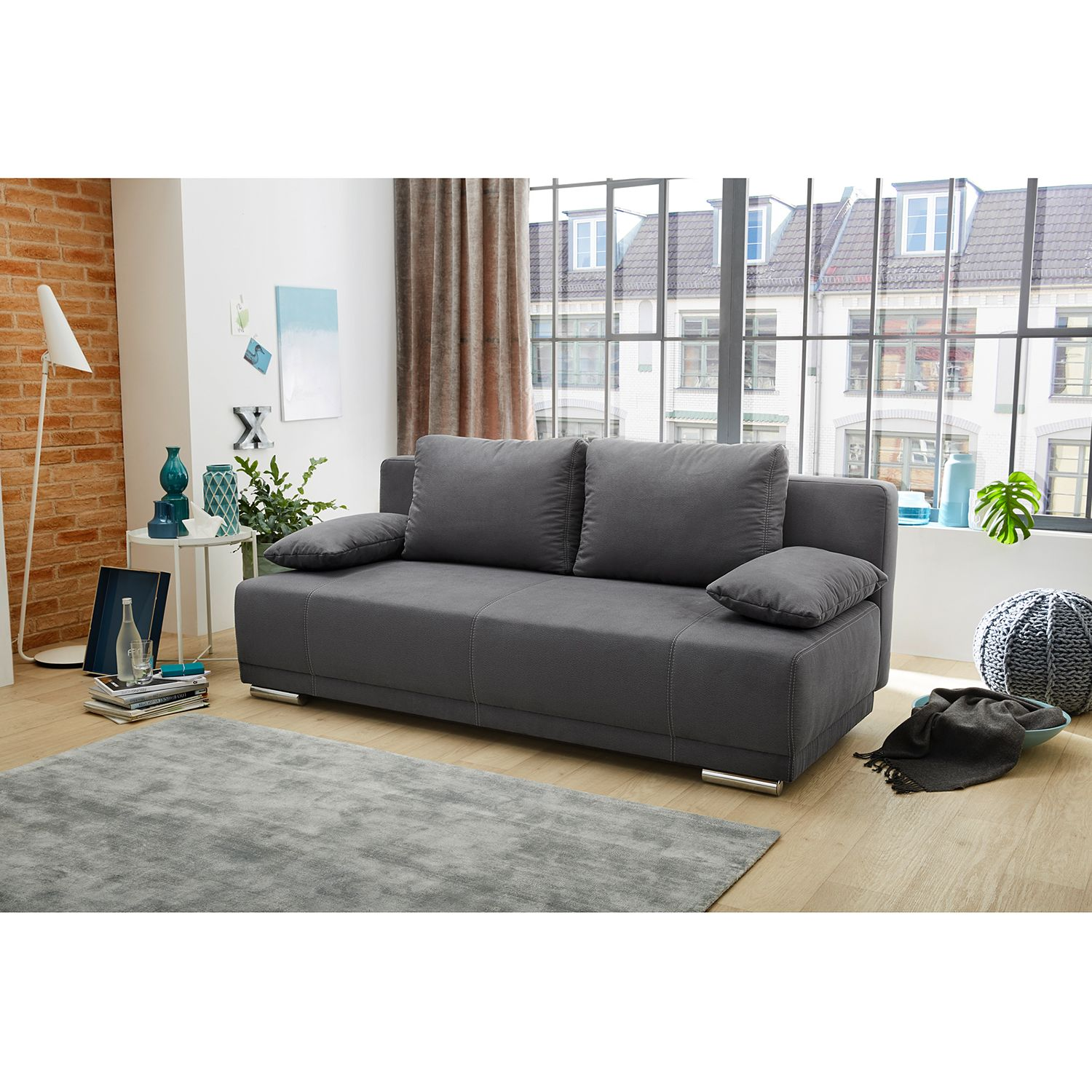 home24 Schlafsofa Freeland