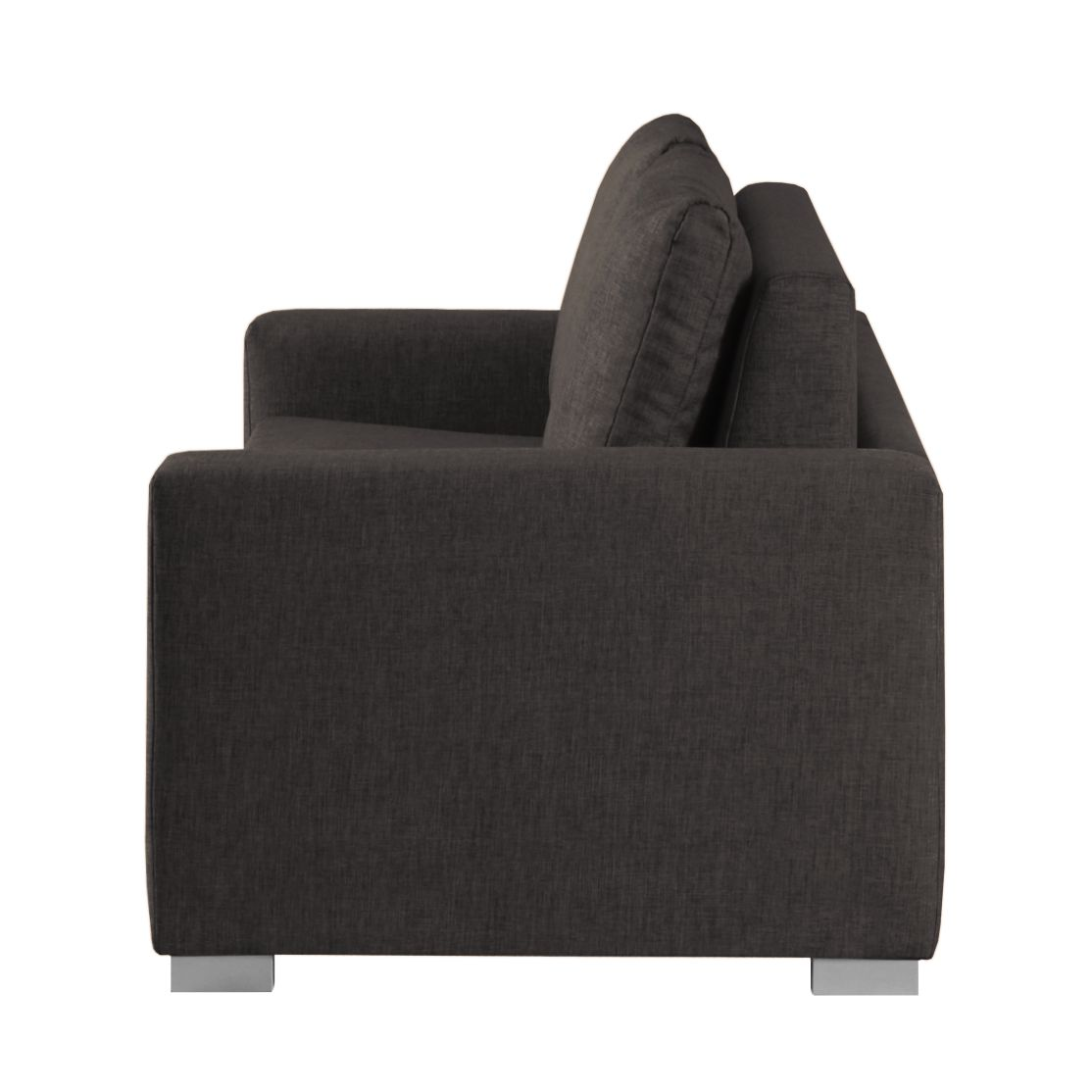 schlafsofa latina webstoff schwarzbraun home24 - Eckschlafsofa Die Praktischen Sofa Fur Ihren Komfort