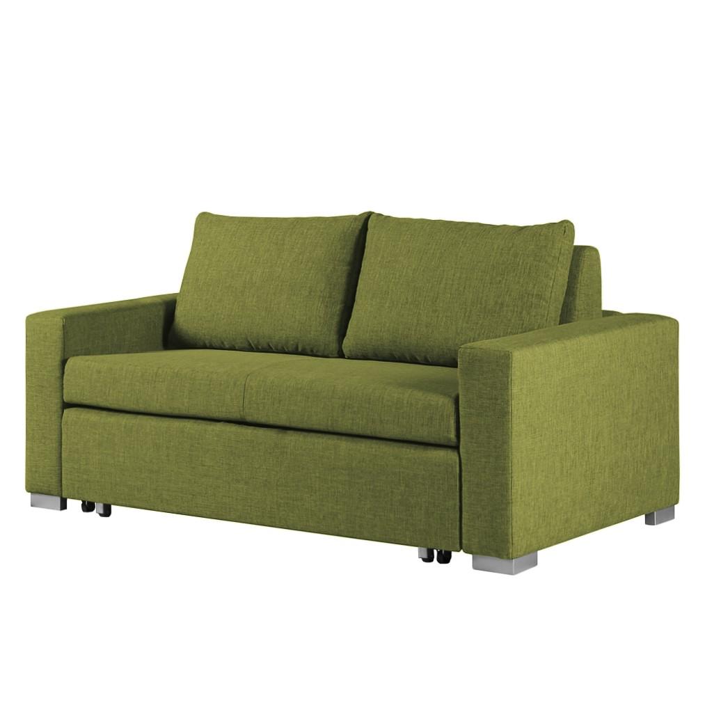 goedkoop Slaapbank Latina geweven stof 170cm Stof Doran Groen mooved