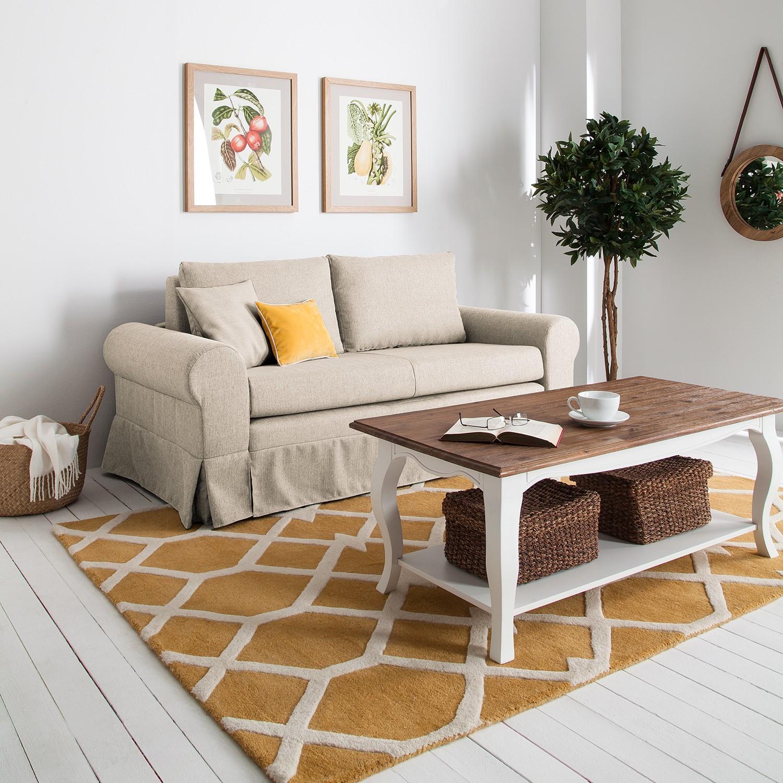 home24 Schlafsofa Latina XIII Webstoff | Wohnzimmer > Sofas & Couches > Schlafsofas | Beige | mooved