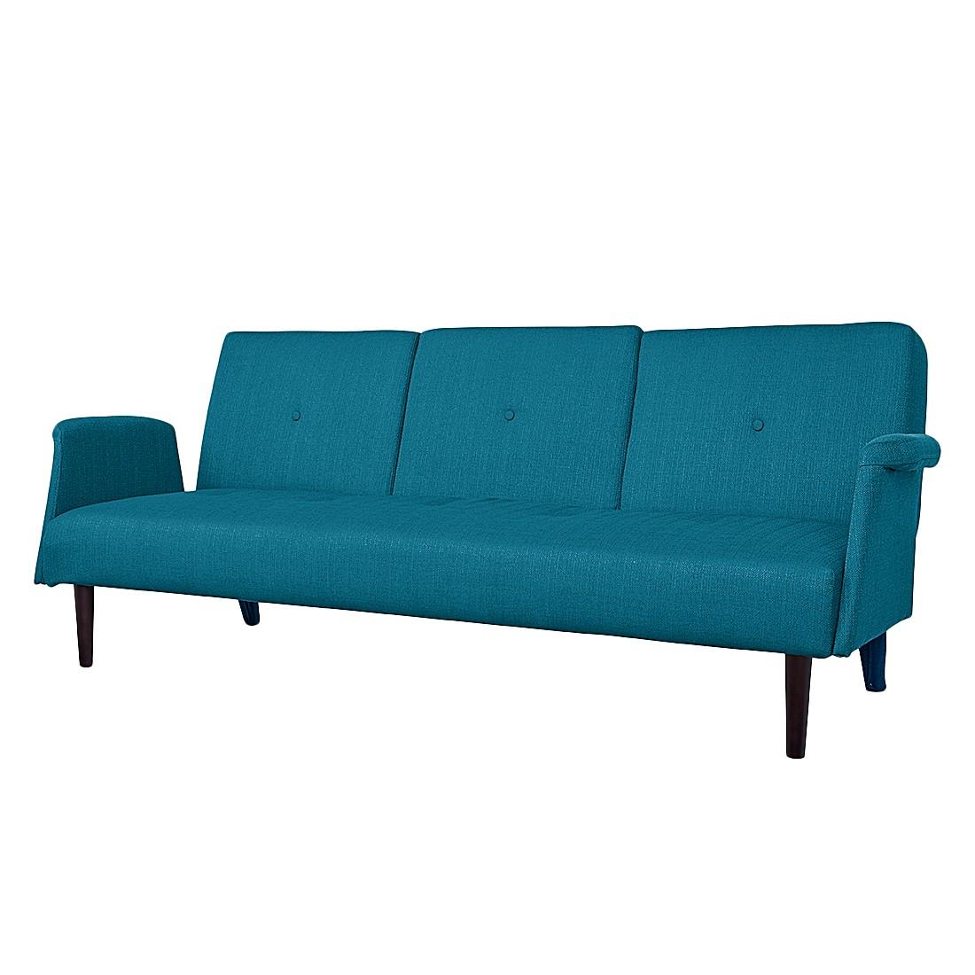 Canapé convertible Mads - Tissu bleu, Morteens