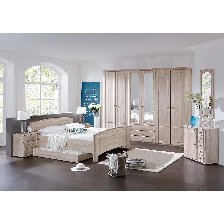 Chambre à coucher Manacor - Chêne brut de sciage, Wimex