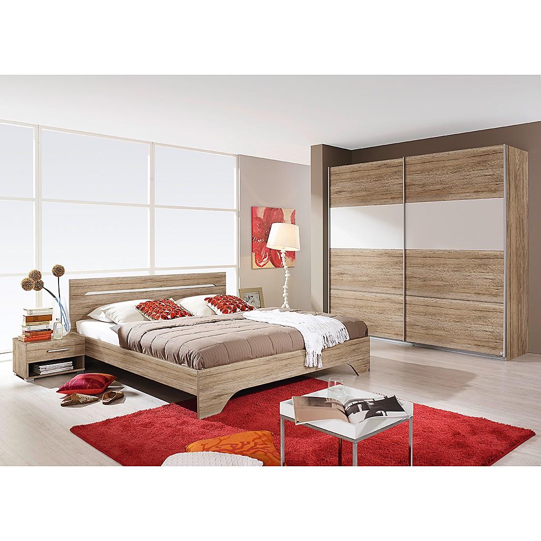 home24 Schlafzimmerset Rubi II (4-teilig)