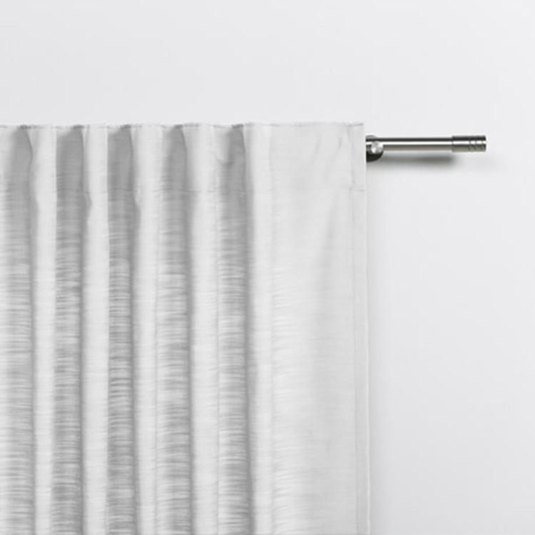home24 Schlaufenschal Balance   Heimtextilien > Gardinen und Vorhänge > Schlaufenschals   Weiss   Textil   mydeco