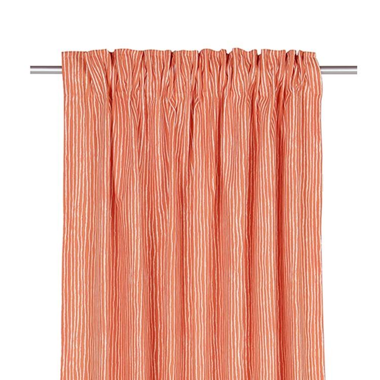 home24 Schlaufenschal T-Painted Stripes | Heimtextilien > Gardinen und Vorhänge > Schlaufenschals | Orange | Textil | Tom Tailor