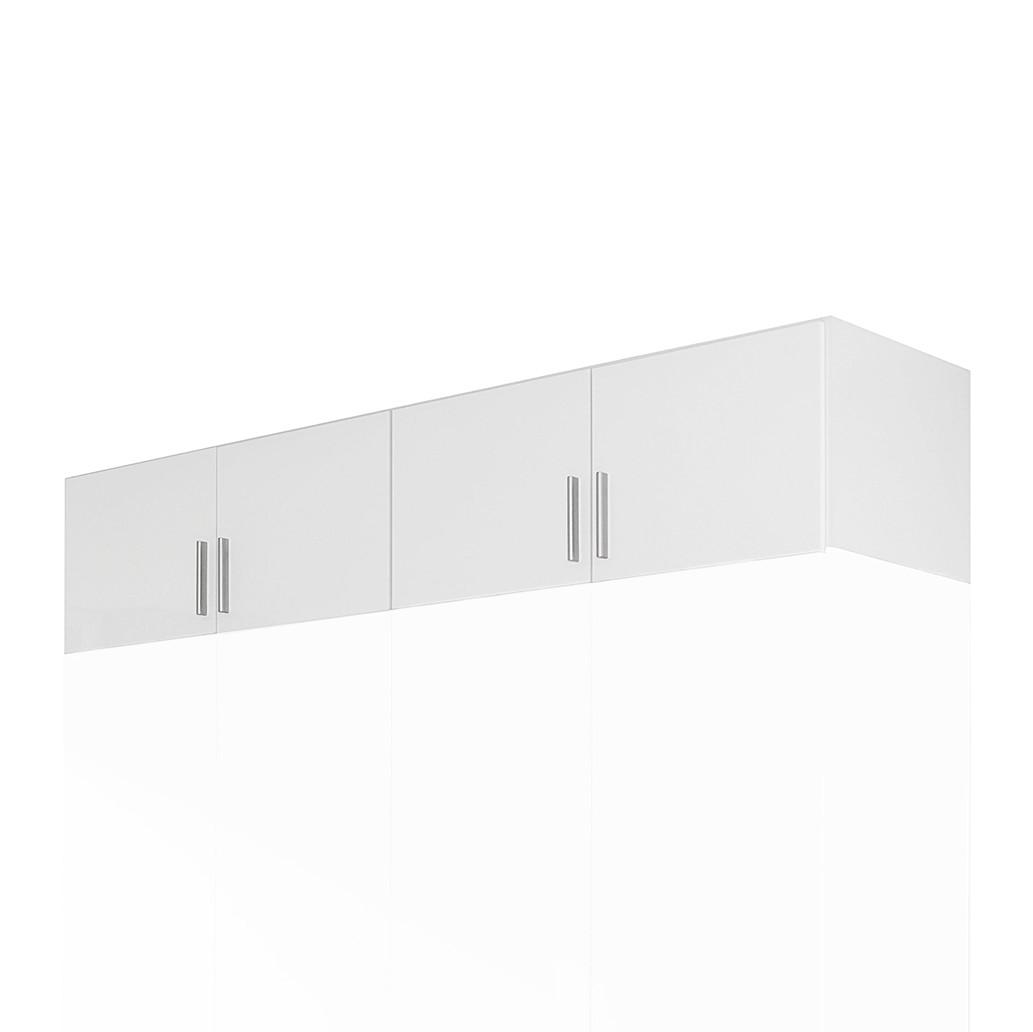 goedkoop Opzetstuk kast Celle 4 deurs hoogglans wit alpinewit Rauch Packs