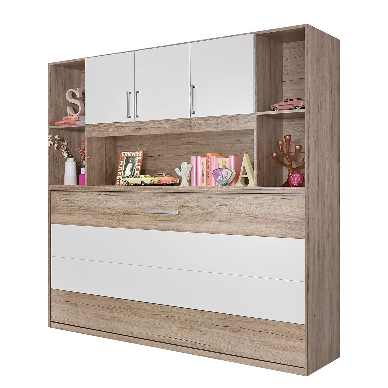 home24 Schrankbett-Kombination Albero Extra | Schlafzimmer > Betten > Schrankbetten | Braun | Holzwerkstoff | Rauch Pack´s
