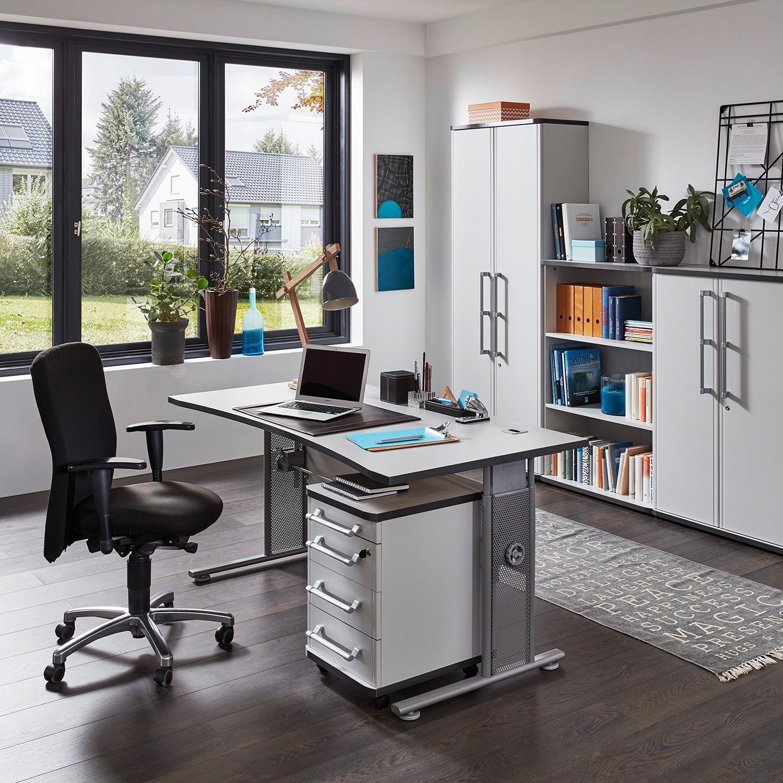 home24 Aktenschrank Avero II | Büro > Büroschränke > Aktenschränke | Grau | Germania