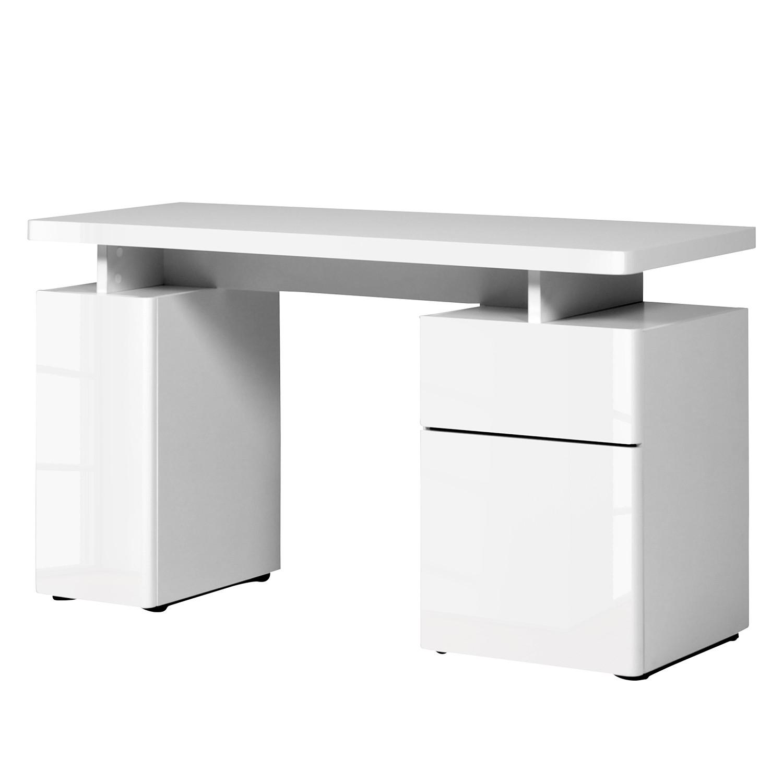 Schreibtisch hochglanz weiss machen sie den for Schreibtisch breite 70 cm