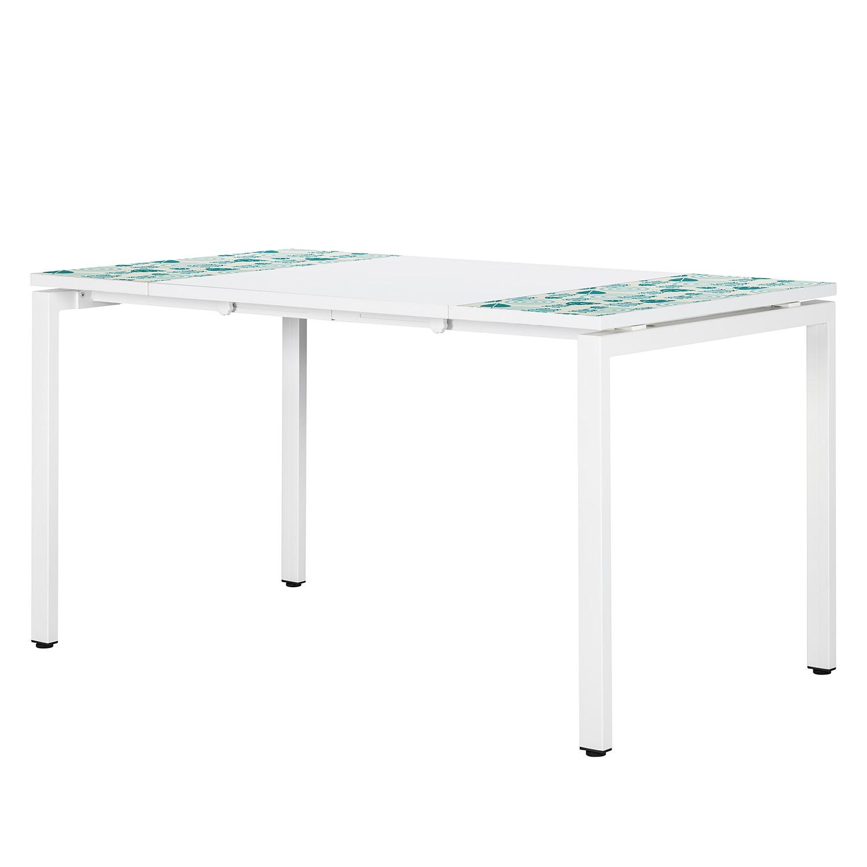 Schreibtisch easyDesk Enfants - Weiß/Grün, easy Office und Paperflow