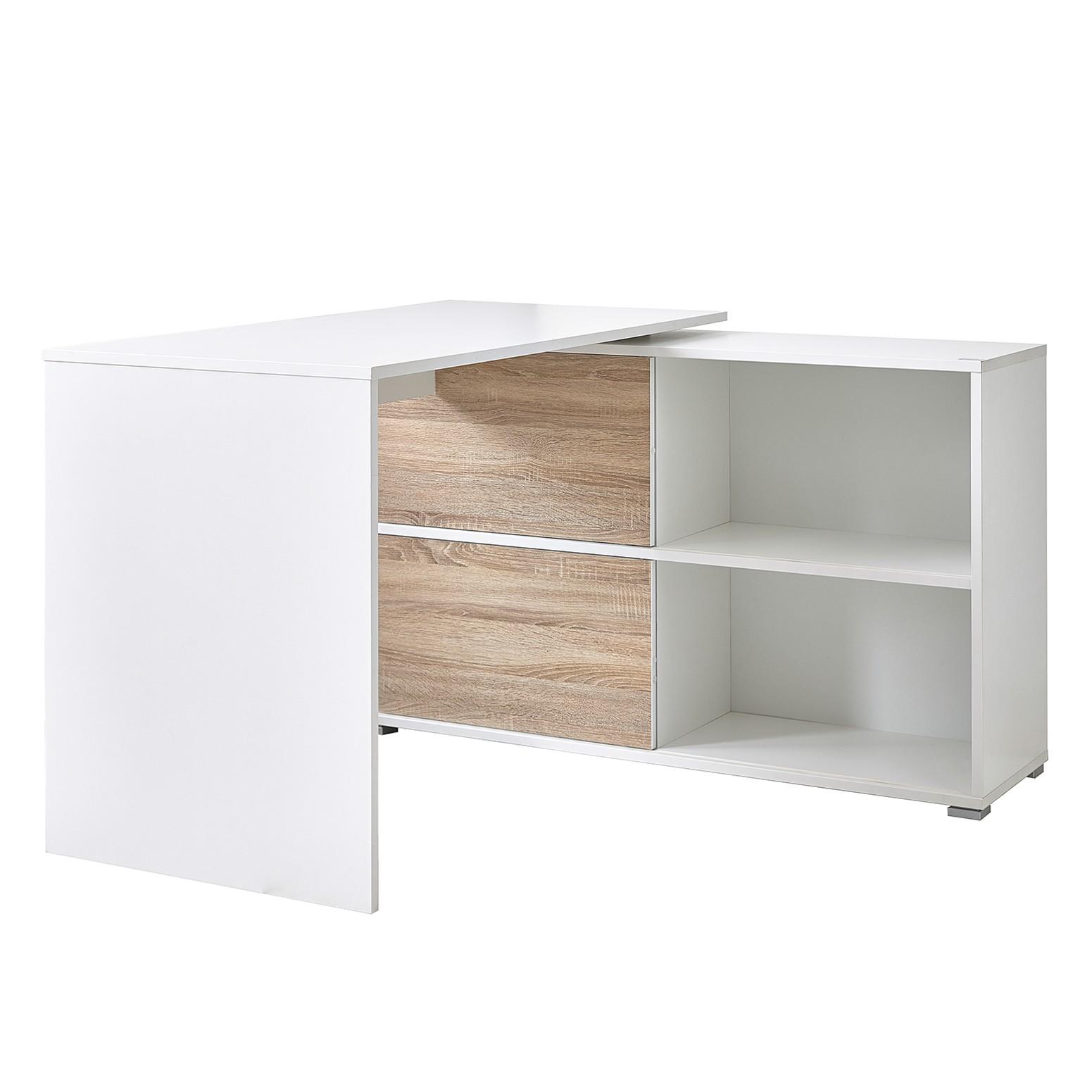 home24 Schreibtisch Mingle | Büro > Bürotische | Beige | Holz | Germania