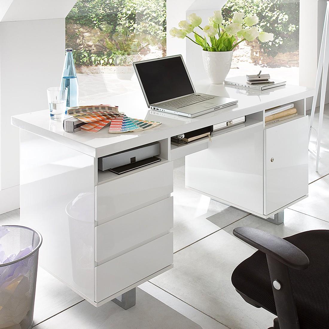 Schreibtisch büro weiß  home24office Bürotisch – für ein modernes Heim | home24