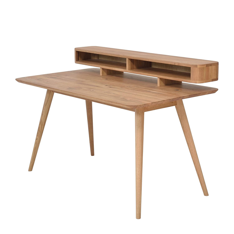 Schreibtisch Sander - Wildeiche massiv - Fashion For Home