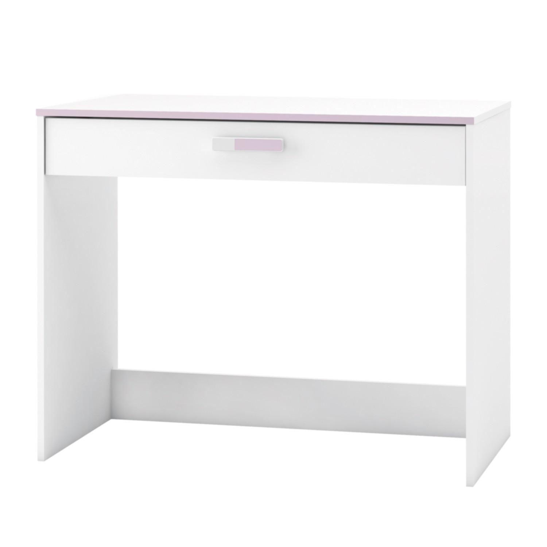 Schreibtisch Switsch - Weiß / Rosa, Kids Club Collection