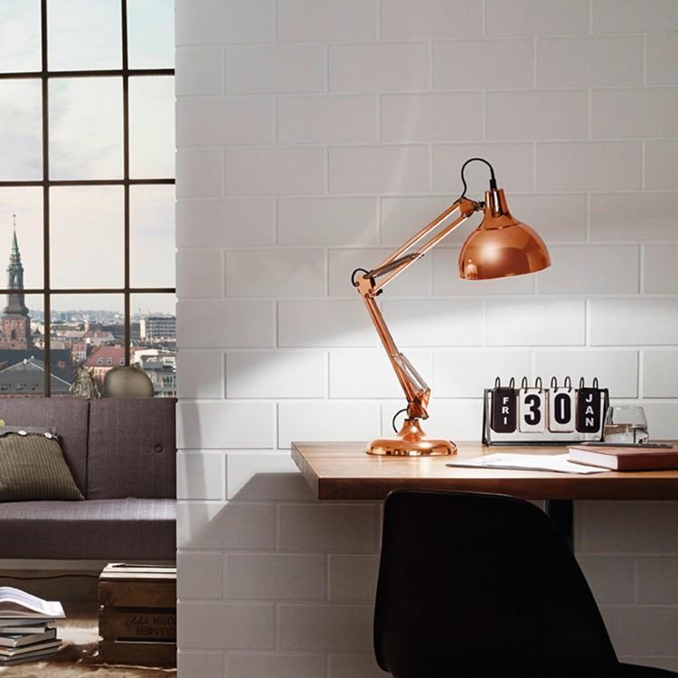 home24 Schreibtischleuchte Borgillio