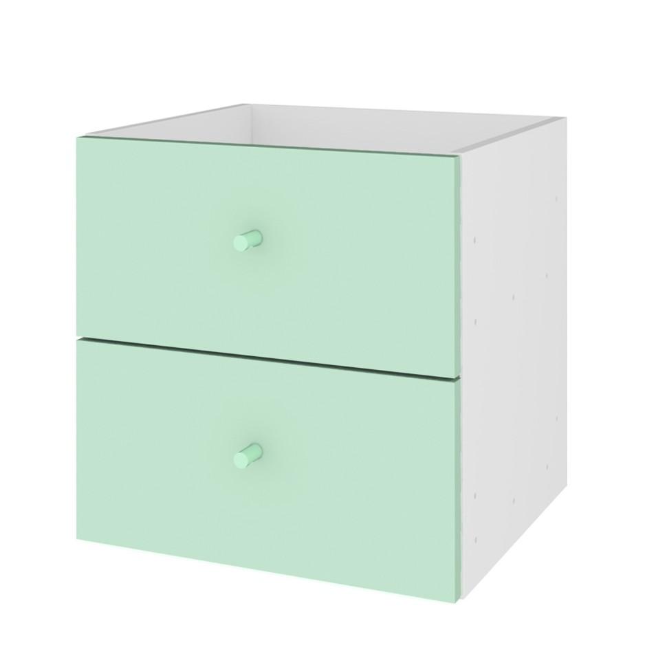 Inserto cassettiera Box - Verde pastello, Tenzo