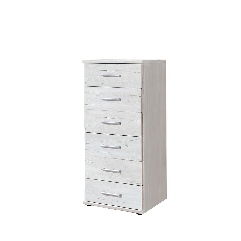 Cassettiera II - Effetto quercia bianca, Wimex