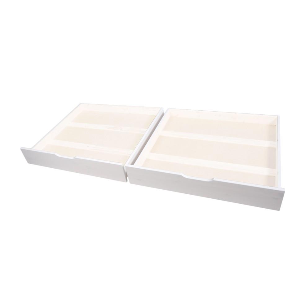 Set 2 tiroirs pour lits superposés