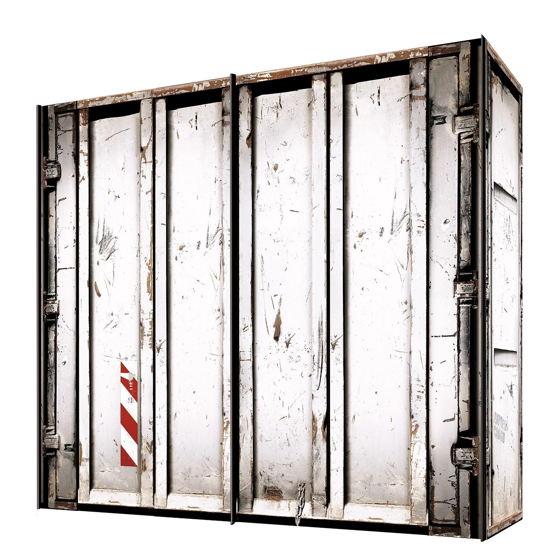 goedkoop Zweefdeurkast Cando Wit 250cm 2 deurs Express Mobel