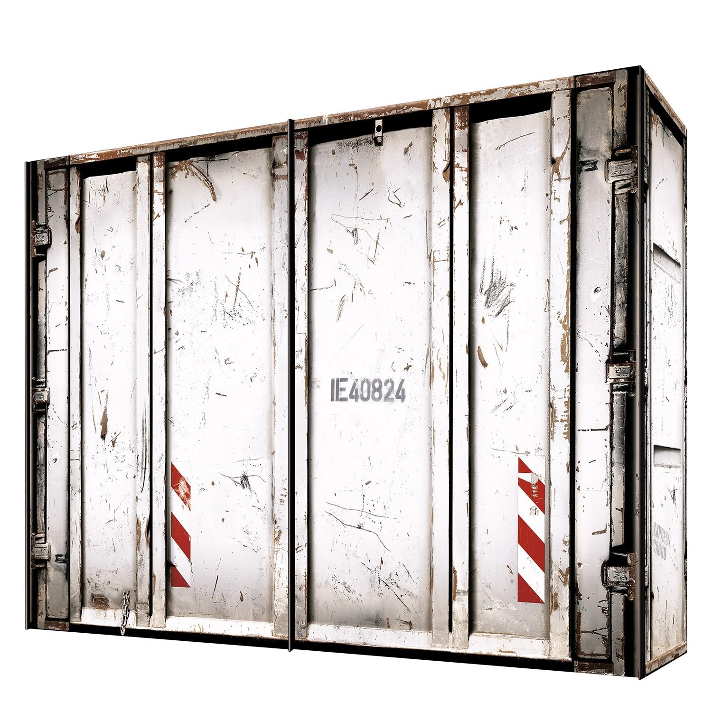 goedkoop Zweefdeurkast Cando Wit 300cm 2 deurs Express Mobel