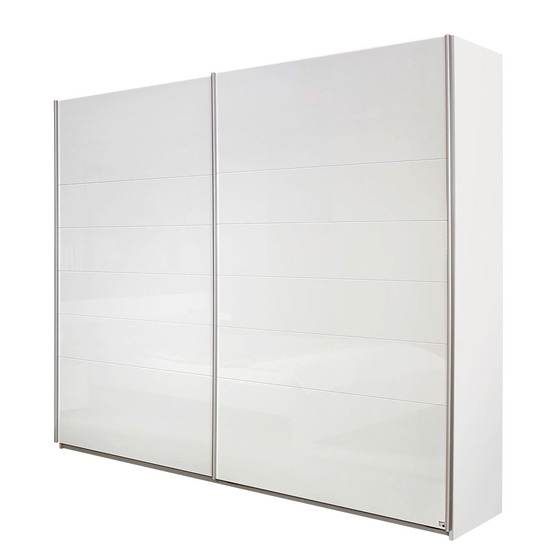 goedkoop Zweefdeurkast Lorca Alpinewit hoogglans wit 181cm 2 deurs Rauch Packs