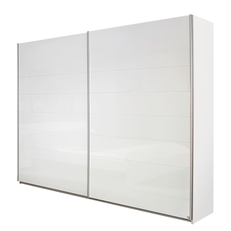 goedkoop Zweefdeurkast Lorca Alpinewit hoogglans wit 271cm 2 deurs Rauch Packs