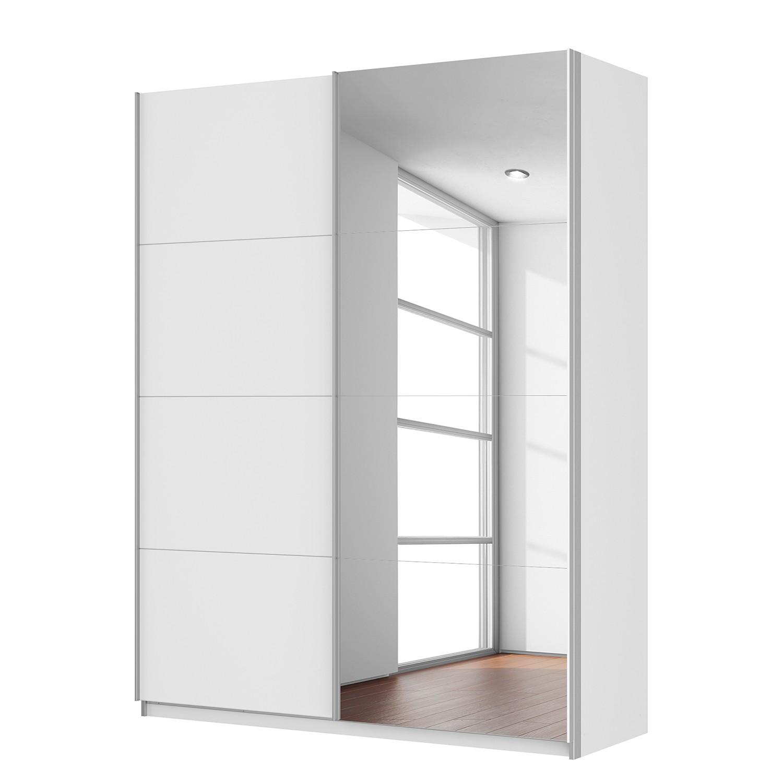 Rabatt schwebetuerenschrank quadra for Breite golf 6 mit spiegel
