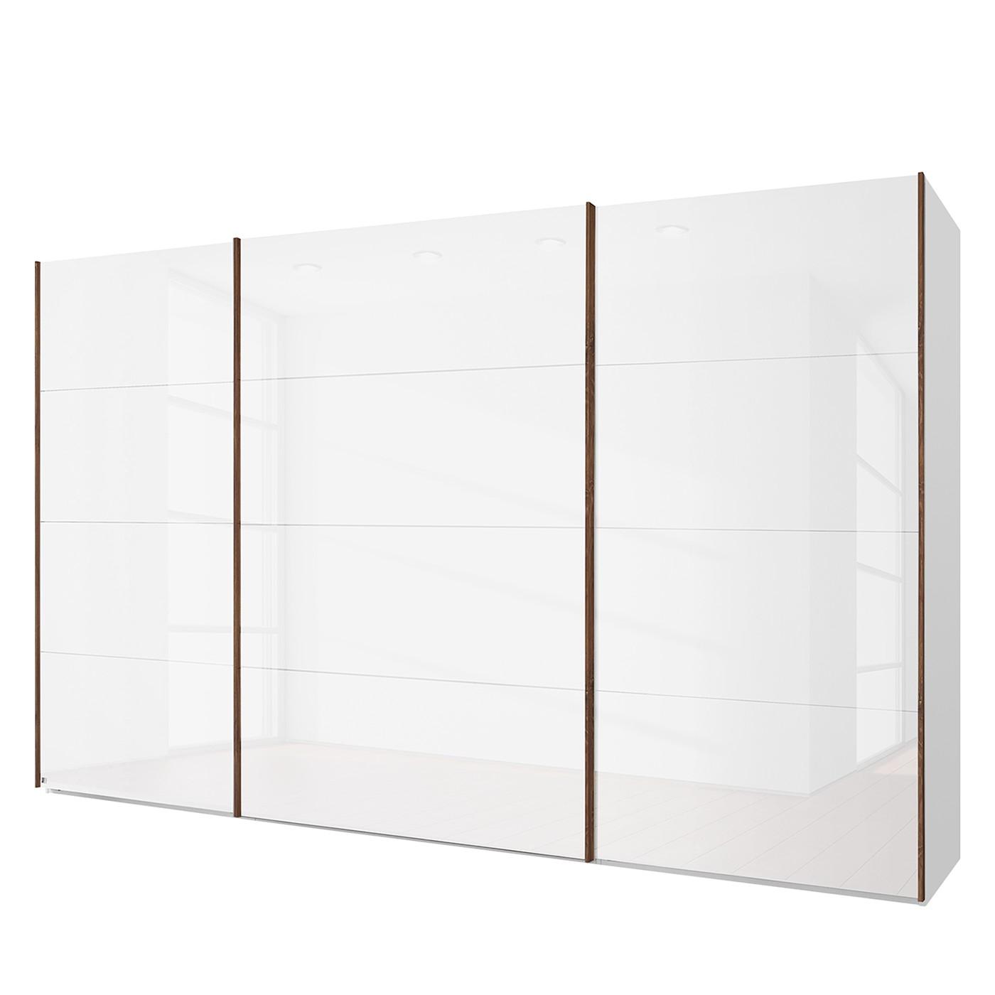 home24 Schwebetuerenschrank SKOEP | Schlafzimmer > Kleiderschränke > Schwebetürenschränke | Weiss | Holzwerkstoff | SKOEP