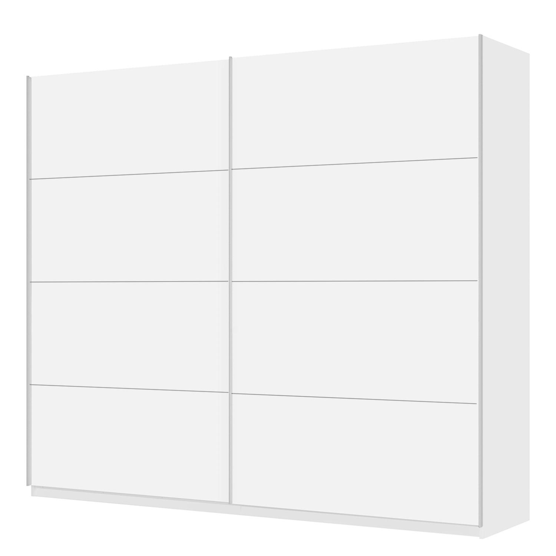 home24 Schwebetuerenschrank SKOEP | Schlafzimmer > Kleiderschränke | Weiss | Holzwerkstoff | SKOEP