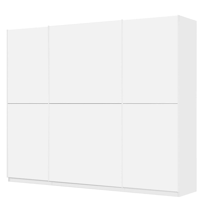 home24 Schwebetuerenschrank SKOEP   Schlafzimmer   Weiss   Glas - Holzwerkstoff   SKOEP