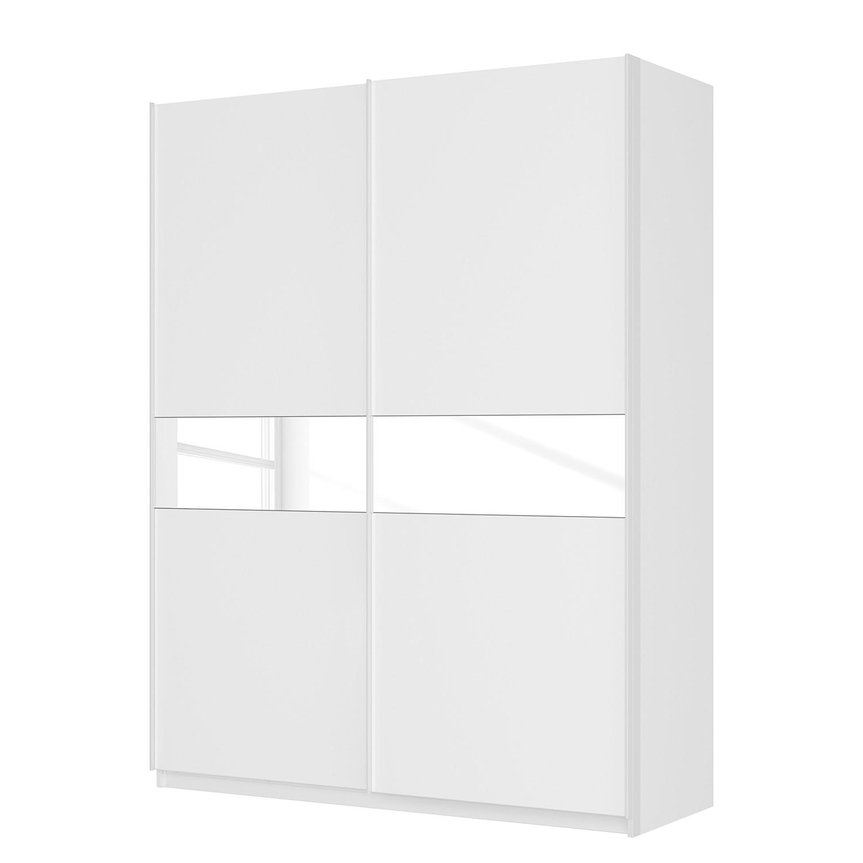goedkoop Zweefdeurkast Skøp alpinewit wit mat glas 181cm 2 deurs 236cm Comfort Skop