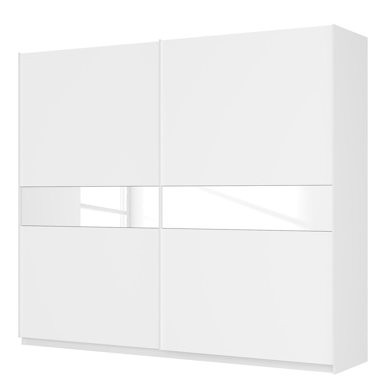 goedkoop Zweefdeurkast Skøp alpinewit wit mat glas 270cm 2 deurs 236cm Basic Skop