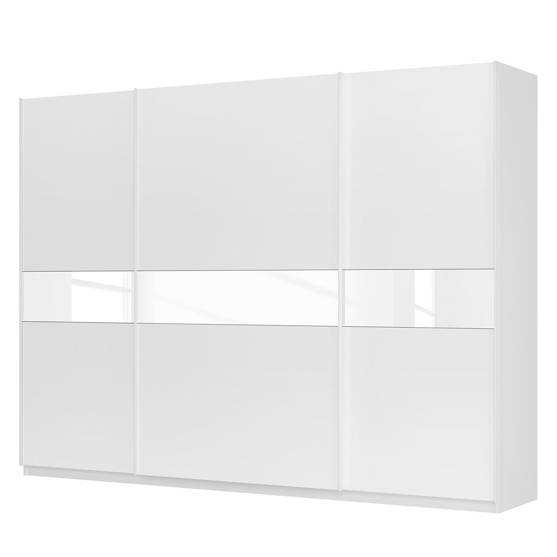 goedkoop Zweefdeurkast Skøp alpinewit wit mat glas 315cm 3 deurs 236cm Comfort Skop