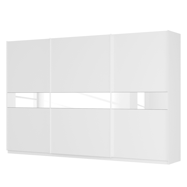 goedkoop Zweefdeurkast Skøp alpinewit wit mat glas 360cm 3 deurs 236cm Comfort Skop