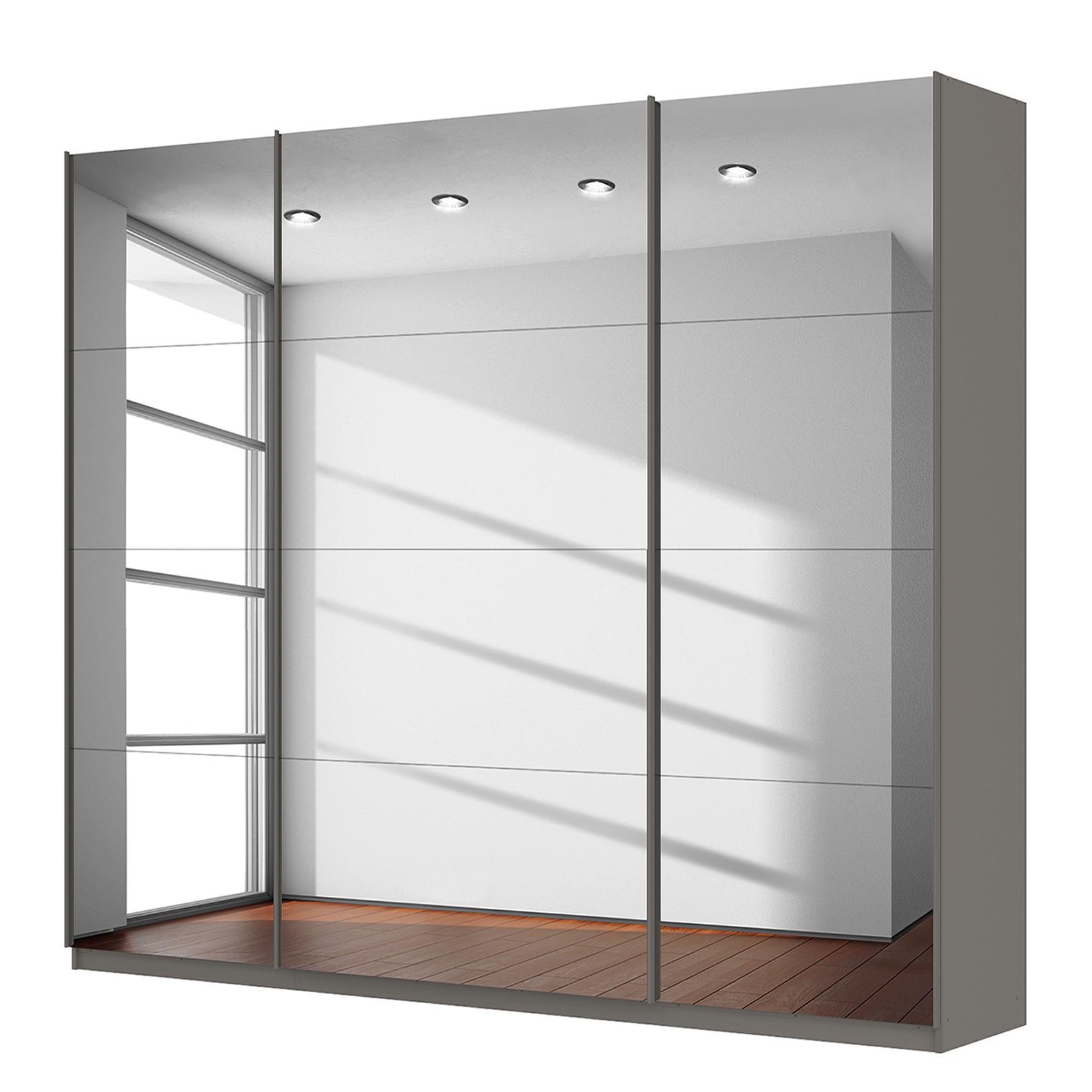 home24 Schwebetuerenschrank SKOEP   Schlafzimmer > Kleiderschränke > Schwebetürenschränke   Grau   SKOEP