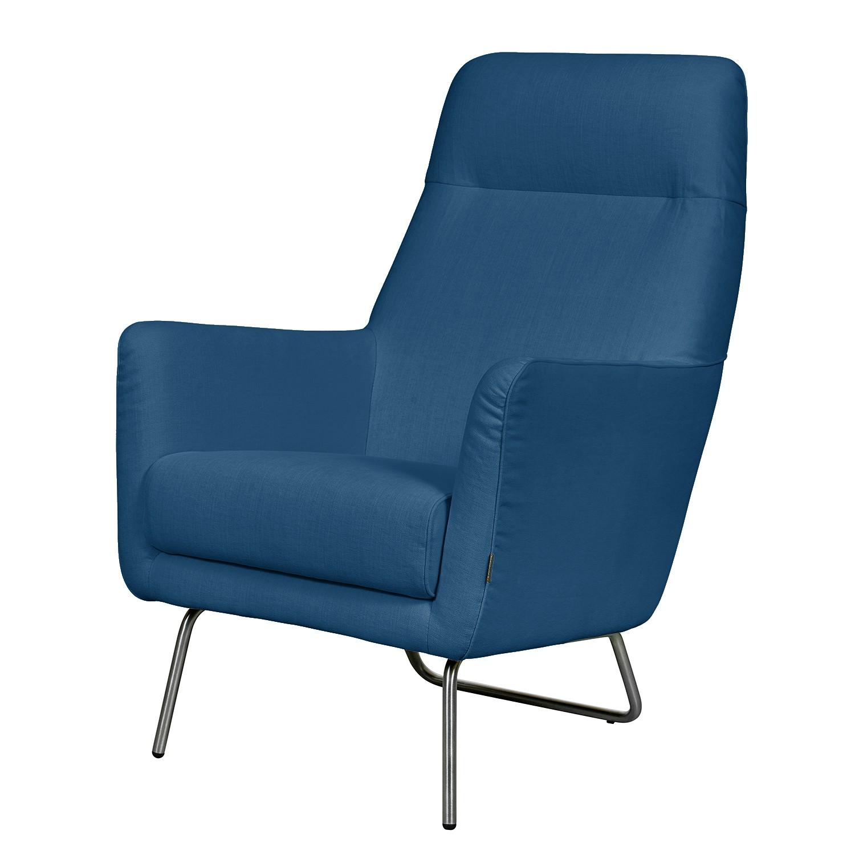 goedkoop Fauteuil Bebour geweven stof Blauw Says Who
