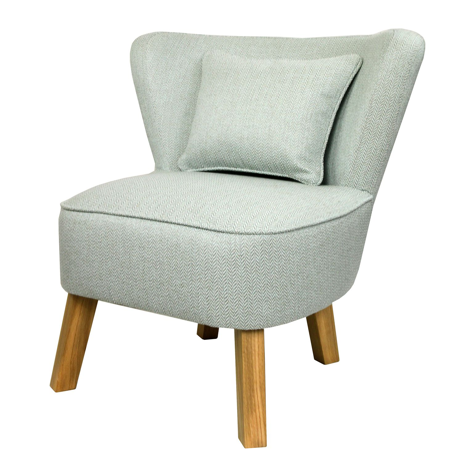 Sessel Freya III Webstoff - Mint