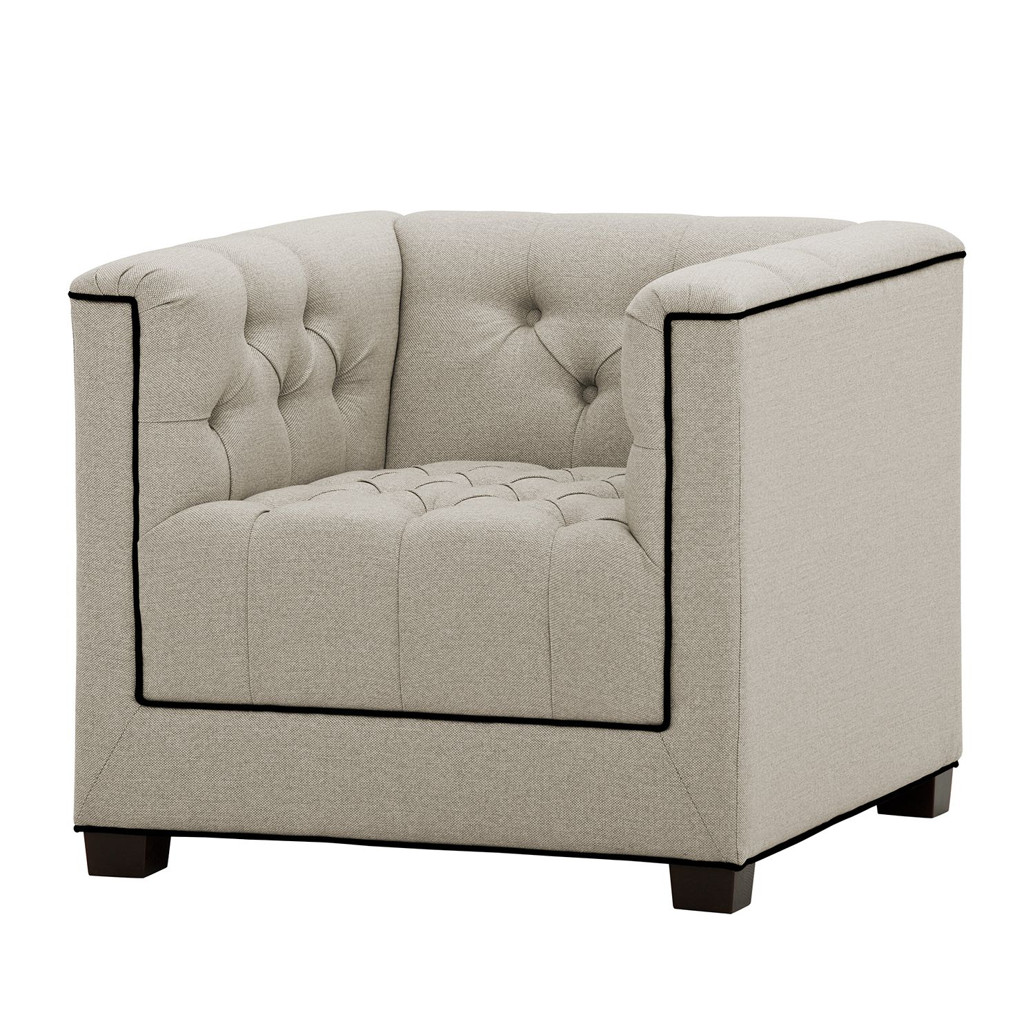 home24 Sessel Grand Duo Webstoff
