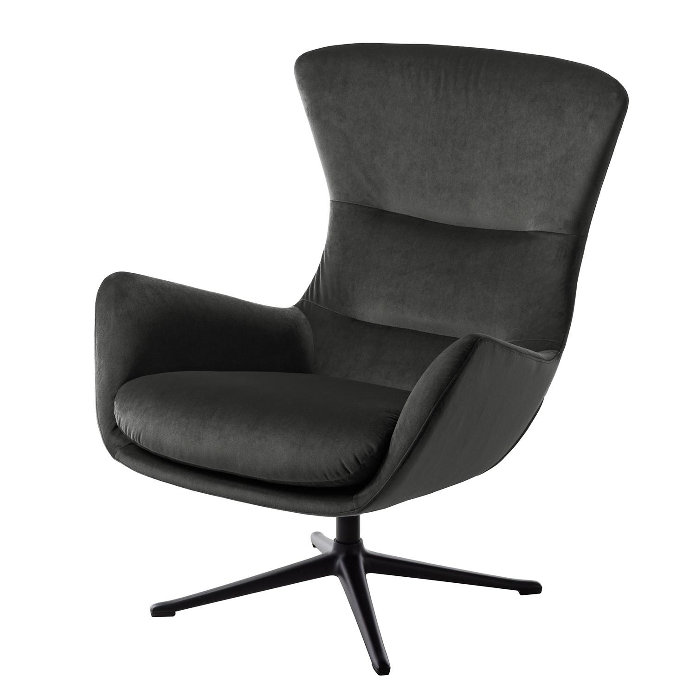 sessel schwarz samt. Black Bedroom Furniture Sets. Home Design Ideas